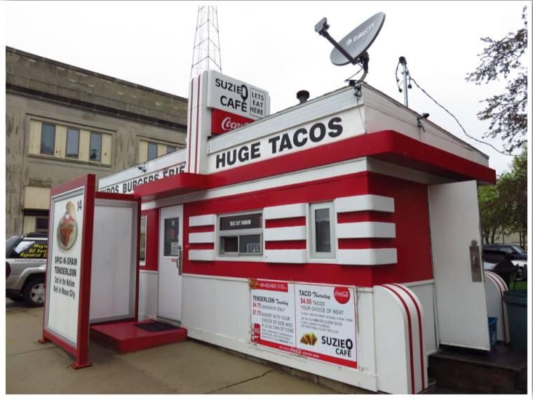 Mason City Iowa Suzie Q Cafe