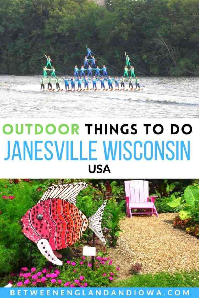 Outdoor things to do in Janesville Wisconsin USA