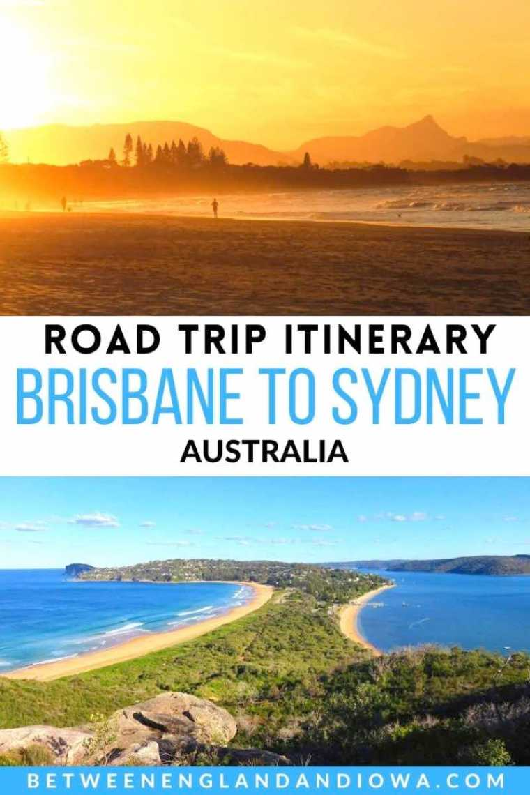 Brisbane to Sydney Road Trip Itinerary Australia