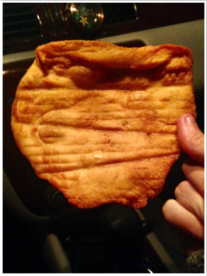 Dairy Queen Dubuque fried bread