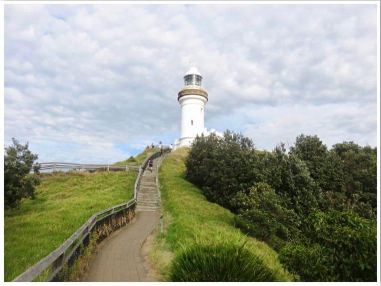 Australia Cape Byron Lighthouse NSW