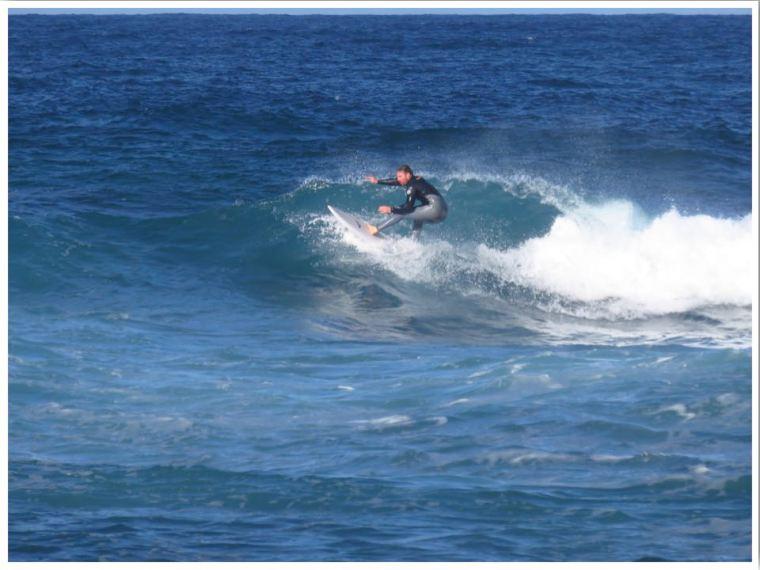 Winter in Sydney Surfer