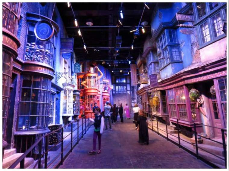 London WB Studio Tour The Making of Harry Potter Diagon Alley