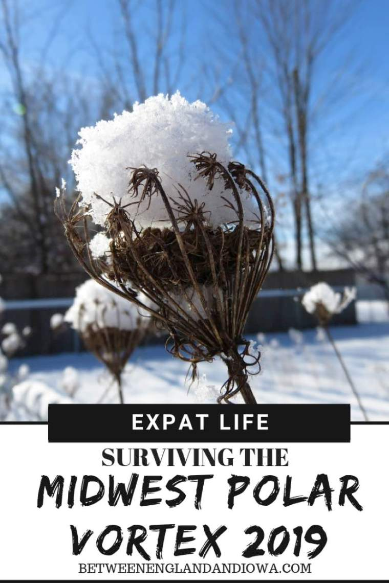 What the Midwest Polar Vortex 2019 was like for a British expat that doesn't like the cold!