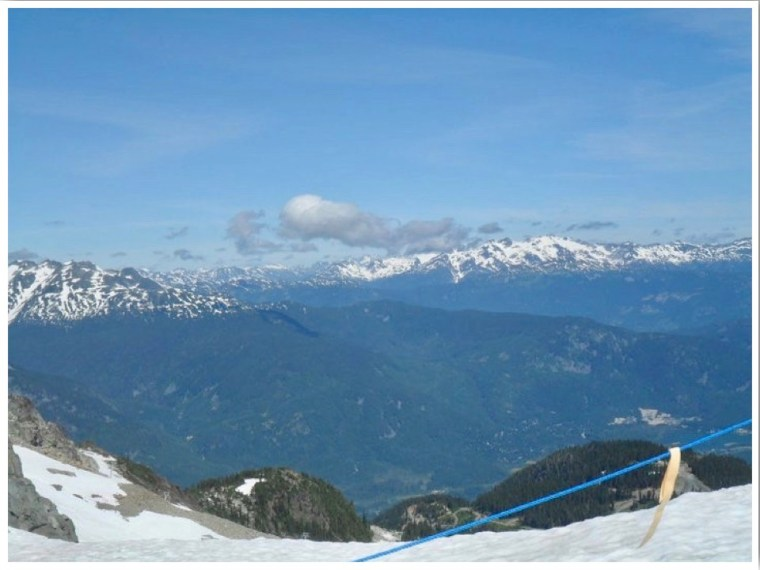Whistler Glacier in Summer