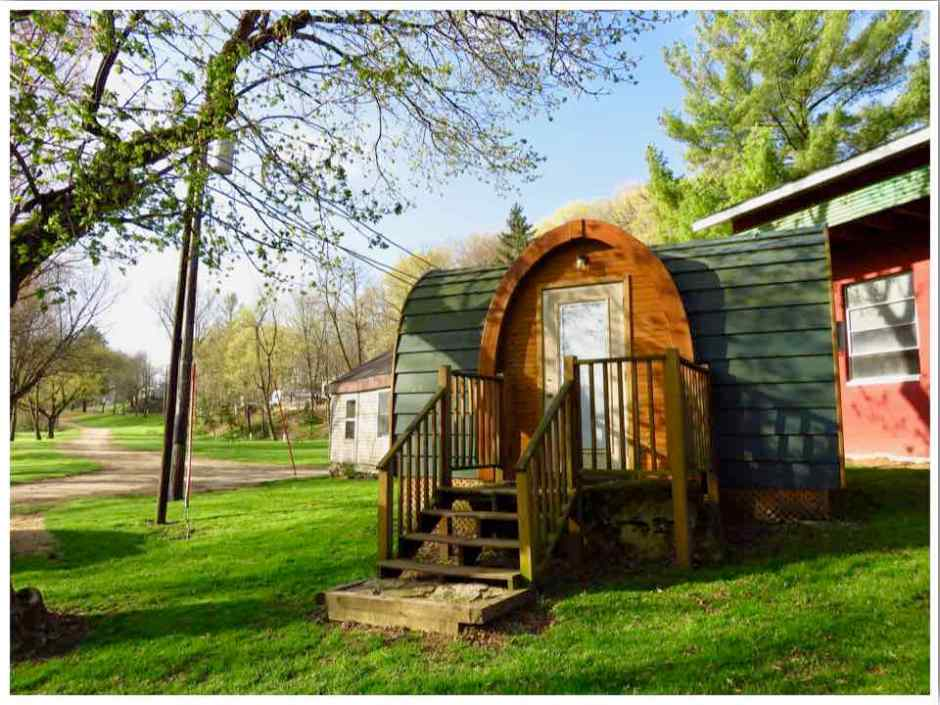 Spook Cave Campground Hut