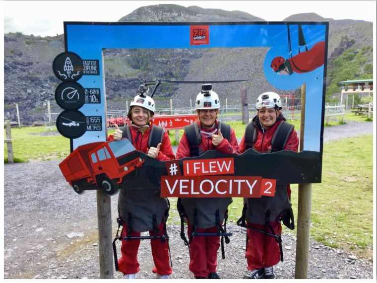 Zip World I flew Velocity 2