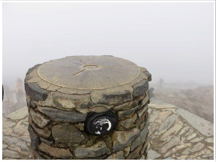 Snowdon Summit Wales