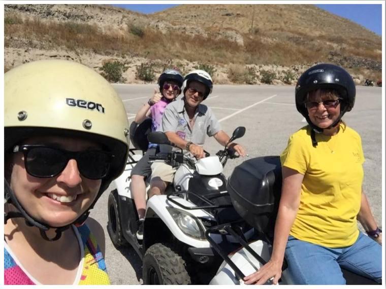 Santorini ATV hire
