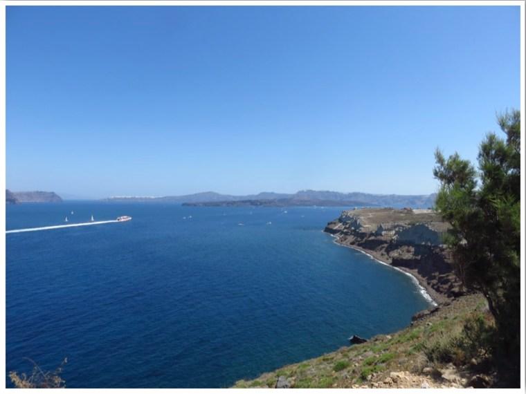 Santorini Coast Road ATV trip