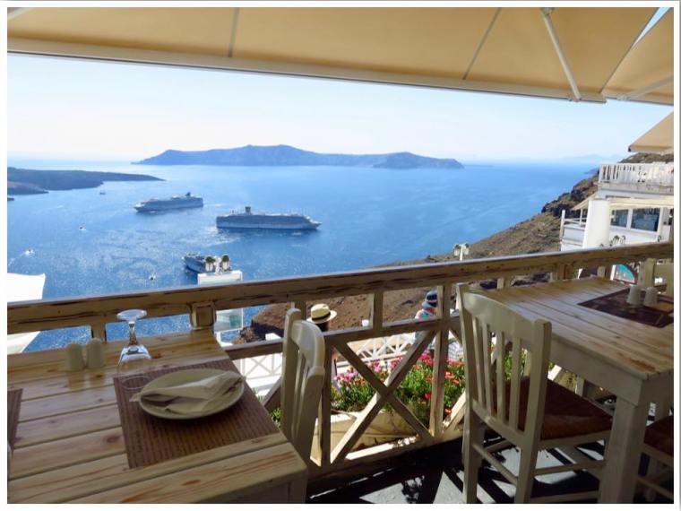 Lithos Fira Santorini Greece