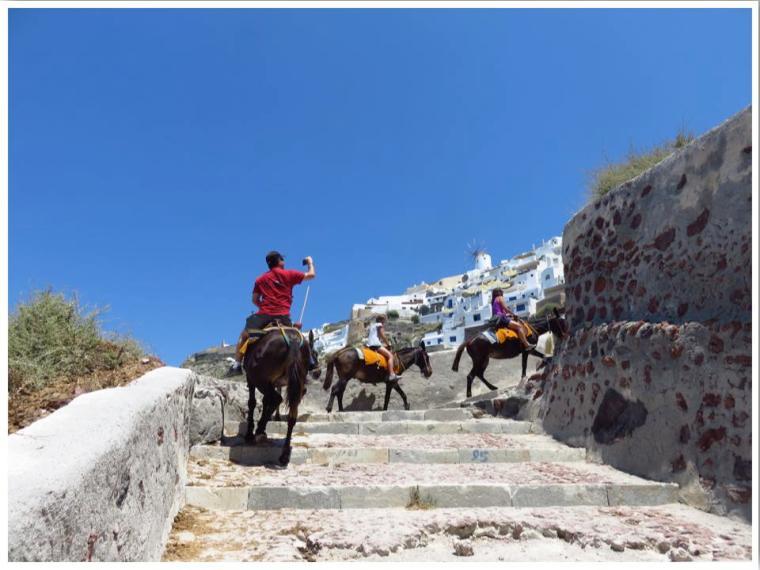Santorini Mules Oia