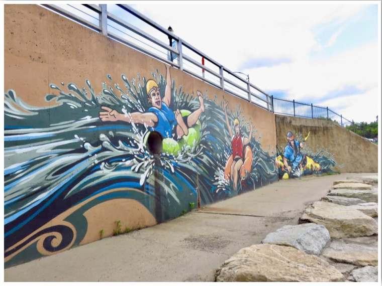 Manchester Water Park Tubing in Iowa