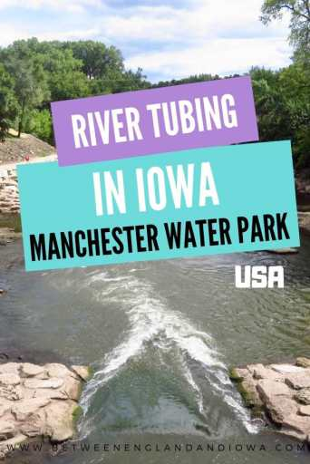 Tubing in Iowa at the Manchester Water Park