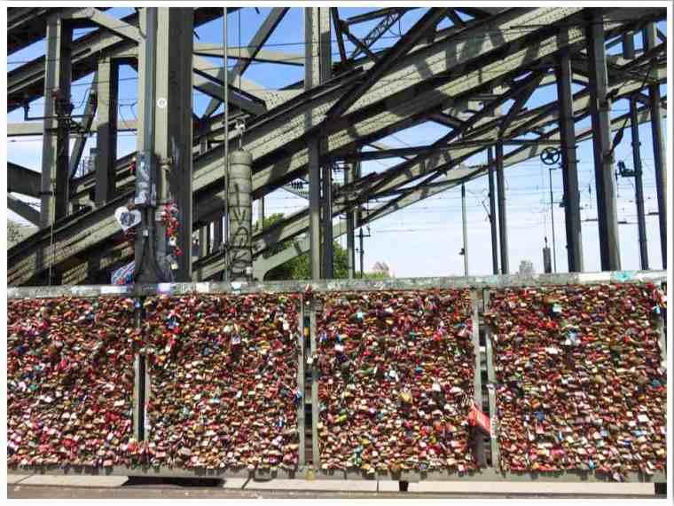 Cologne Love Lock Bridge