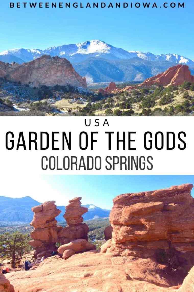 Hiking at Garden of the Gods in Colorado Springs, Colorado USA