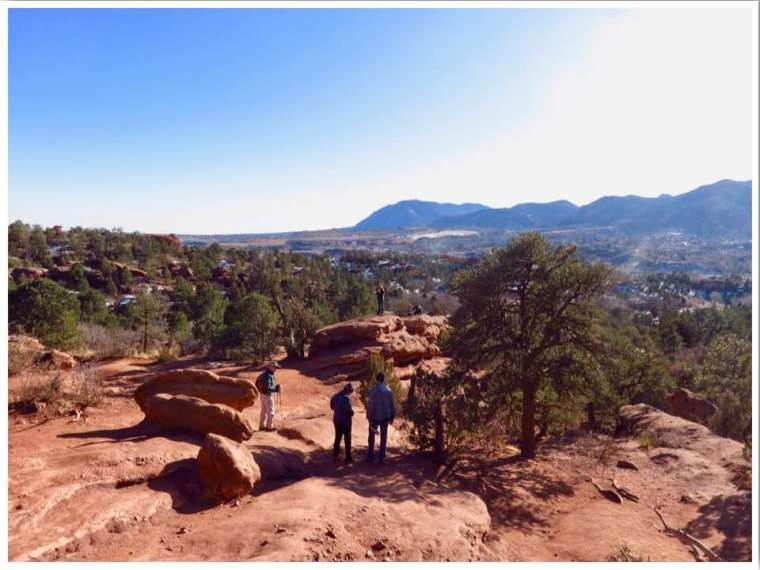 Garden of the Gods Hiking Siamese Twins Trail