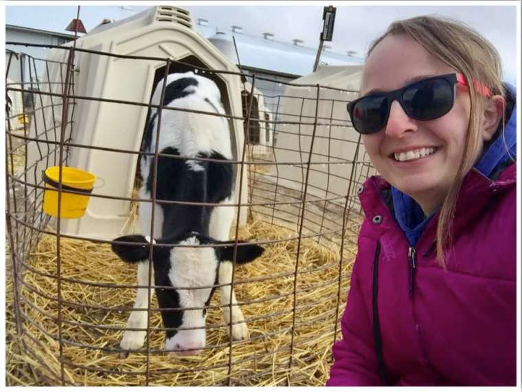 New Day Dairy Farm Tour Iowa