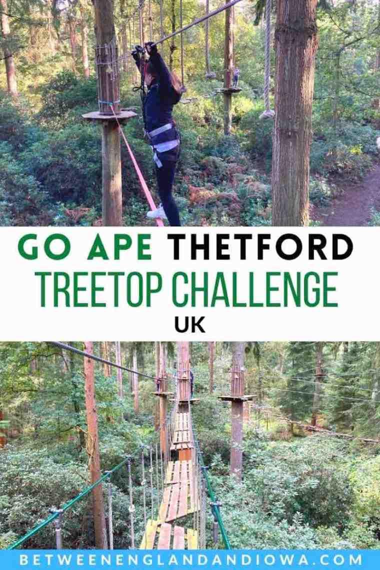 Go Ape Thetford Forest Treetop Challenge