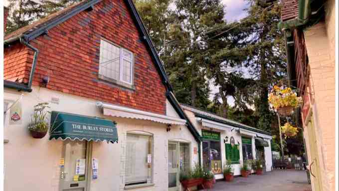 Burley New Forest Village
