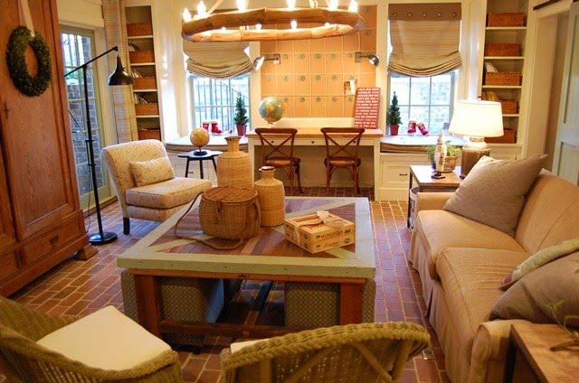 Southern Living Idea House In Senoia Georgia Family Room