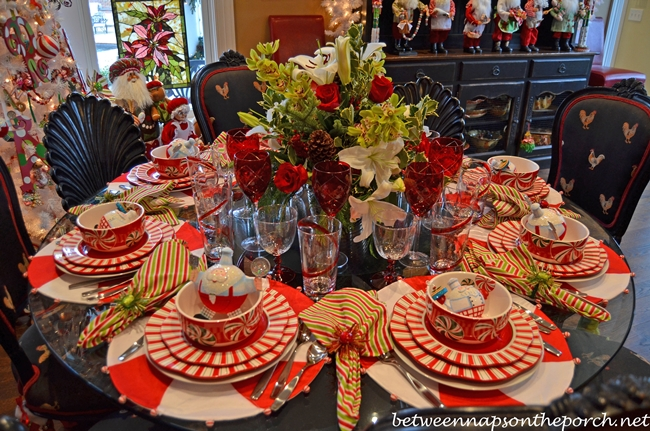 Christmas Table Settings Tablescapes For A Formal Or