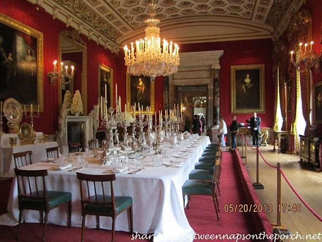 Dining In An English Country House A Visit To Chatsworth