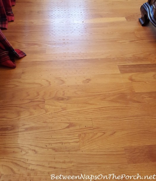 How Do I Remove Carpet Padding Residue Off Hardwood Floors