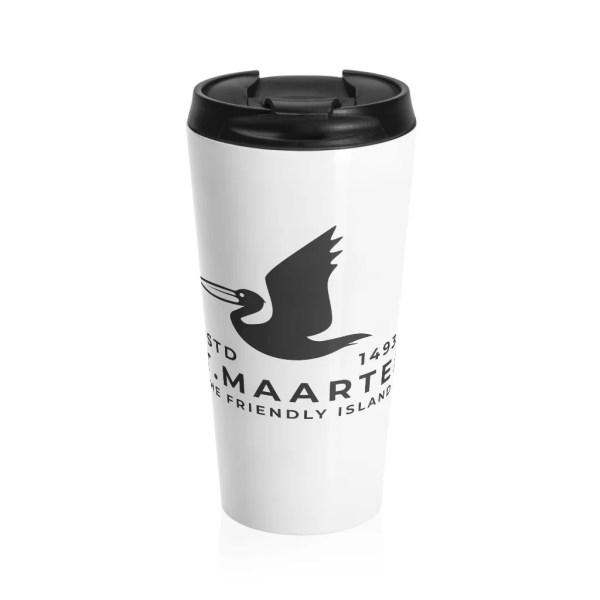 St. Maarten Stainless Steel Travel Mug
