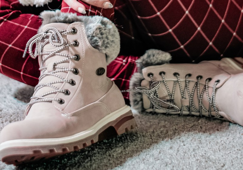 Prepping for snow with Lugz booties