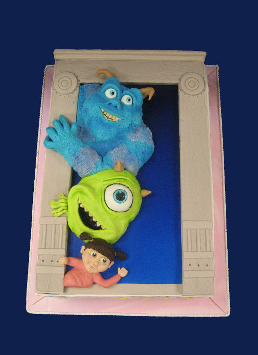 Boo Mike And Sulley Pop Out To Say Happy Birthday Between The Pages Blog