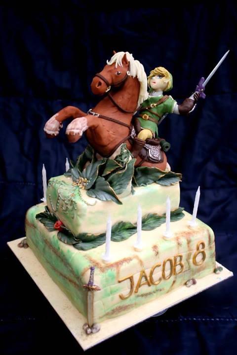 Stunning Legend Of Zelda Birthday Cake Between The Pages Blog