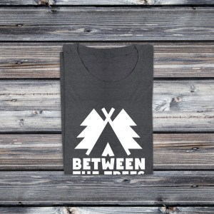 Between the Trees Festival T-shirt design - 2018
