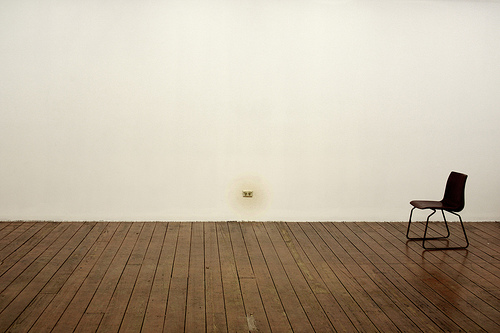 Empty Room With Chair