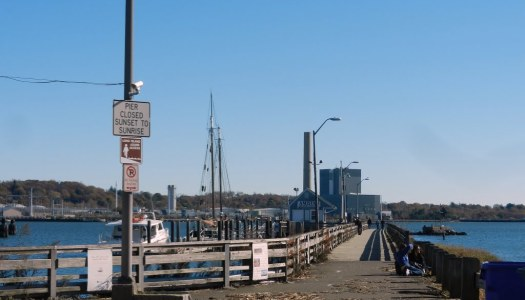 Let's Build a Pedestrian Bridge to Long Wharf!