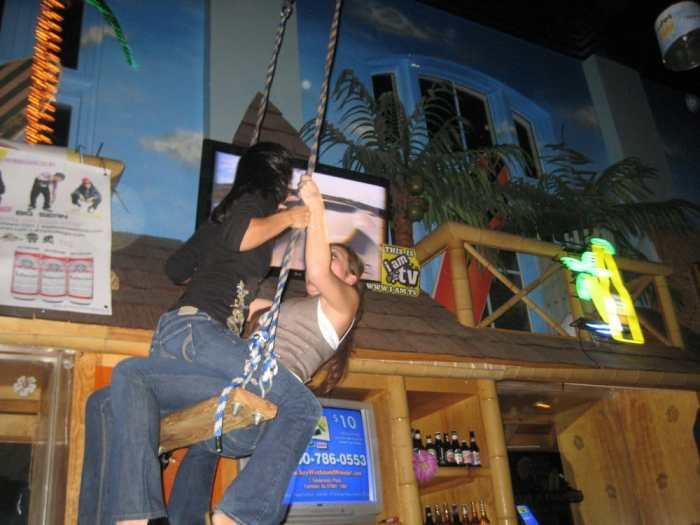 Hula Hank's Swing