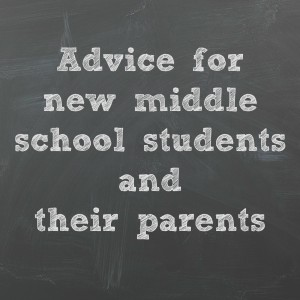 On Chicago Parent: Advice to new middle school students and their parents