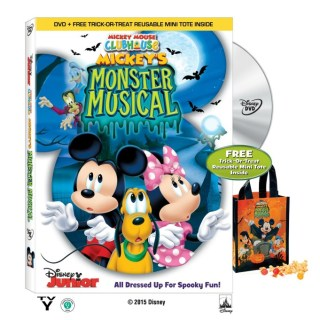 Mickey Mouse Clubhouse: Mickey's Monster Musical DVD Giveaway