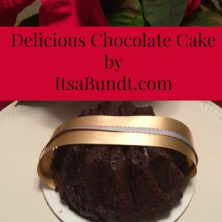 Last minute gift idea: Delicious cake from It's a Bundt