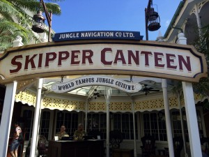 Review of the Jungle Navigation Co. Ltd. Skipper Canteen Restaurant in the Magic Kingdom