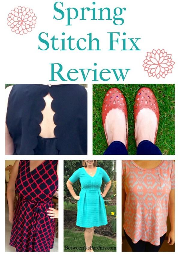 Spring Stitch Fix Review