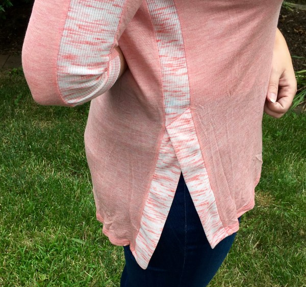 Hadlie Side Slit Knit Top July Stitch Fix Review Loveappella