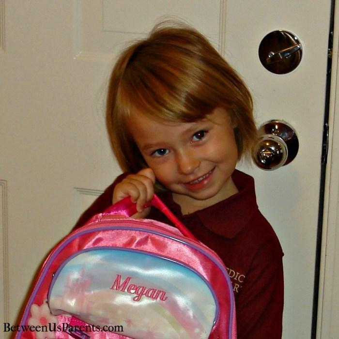 First Day Kindergarten backpack