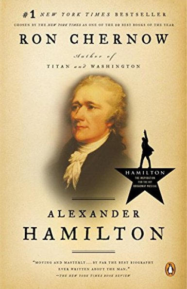 Alexander Hamilton biography by Ron Chernow