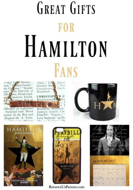 Great gifts for Hamilton fans