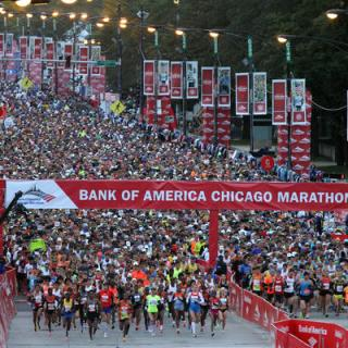 Fun facts about the Chicago Marathon by the numbers