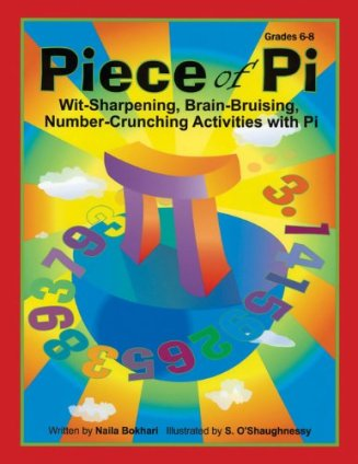 Piece of Pi book, perfect for Pi Day