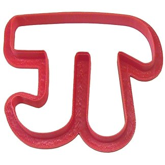 Pi cookie cutter and other fun products for celebrating Pi and Pi Day
