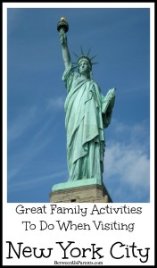 Family activities in New York City that are great for visitors of all ages