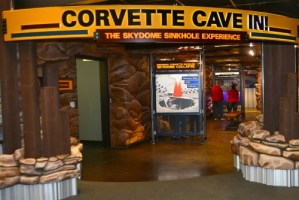 Corvette Museum Sinkhole Exhibit
